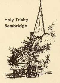 Sketch of Holy Trinity Church, Bembridge