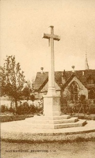 Bembridge : War Memorial : 1920's