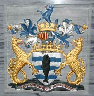Arms of Earl Jellicoe