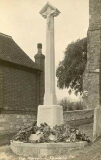 Brading : War Memorial : in the 1920's