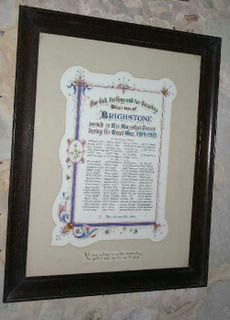Brighstone St Mary Roll of Honour