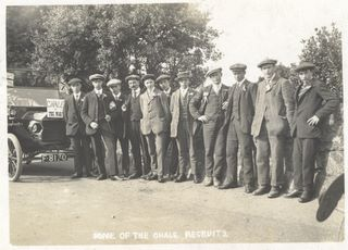 Chale Recruits 1914
