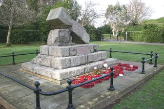 Memorials And Monuments On The Isle Of Wight Cowes War