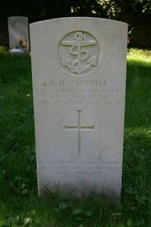 East Cowes (Kingston Road) Cemetery : F H Campbell
