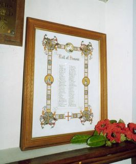 Lake Church of the Good Shepherd Roll of Honour