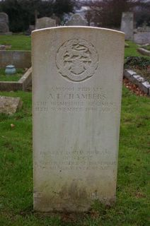 Newport Borough Cemetery : A T Chambers