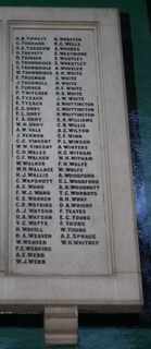 Newport : Drill Hall Isle of Wight Rifles Memorial Panel
