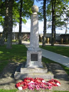 Camp Hill Prison Officers War memorial
