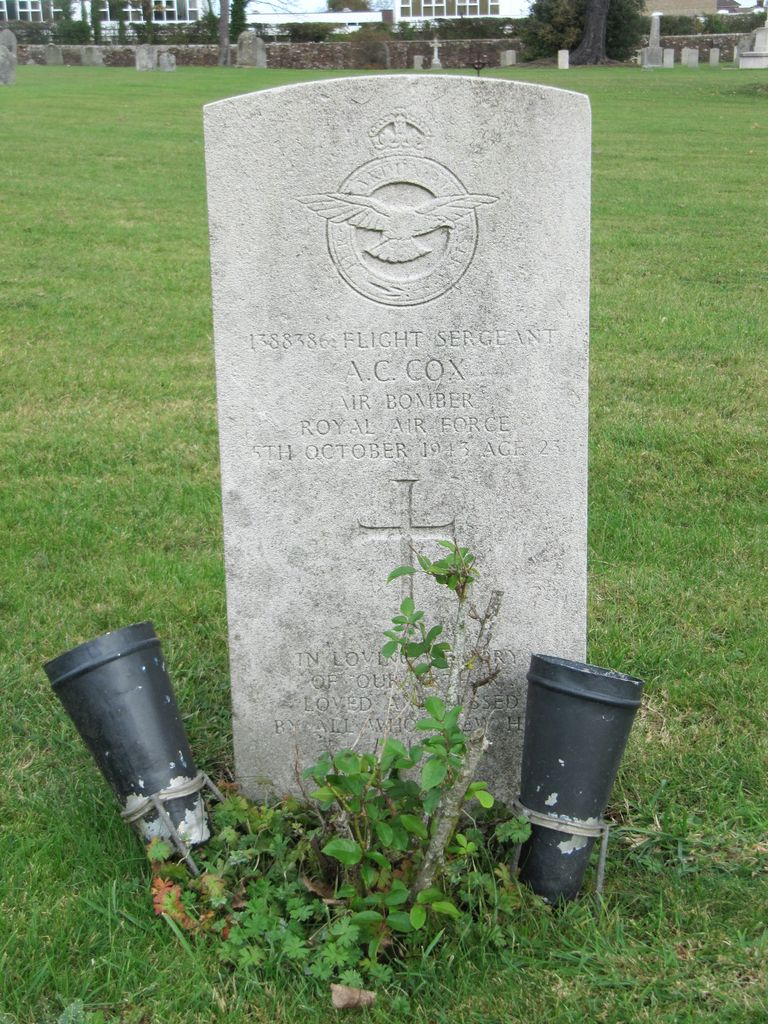 Parkhurst Military Cemetery : A C Cox