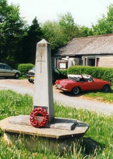 Porchfield : present War memorial