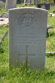 Ryde Borough Cemetery : A H Hawkins