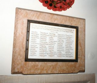 Shanklin St Paul's Church War memorial