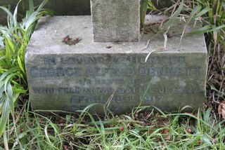 Totland Christ Church George Alfred Dennett headstone
