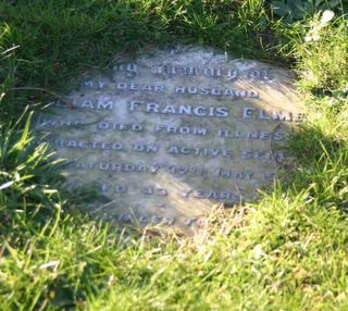 Ventnor Cemetery : William Francis Elmes
