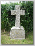 Wellow Baptist Church yard : M S Budden